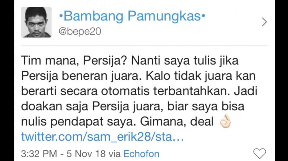 """""""Persija Juara, Sudah Diatur?"""" 5/5"""